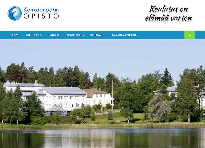 Tyylikkäät kotisivut - Kankaanpään Opisto