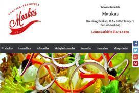 Uudet kotisivut - Ravintola Maukas - Tampere