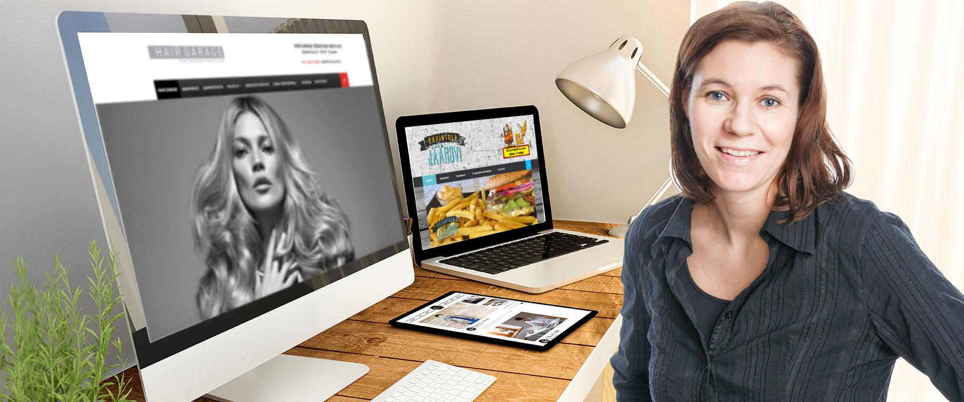 Tyylikkäät ja responsiiviset kotisivut yhdistyksille ja yrityksille!