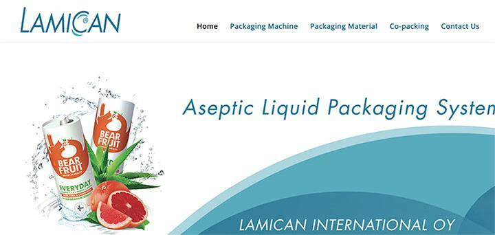 New Webdesign - Lamican International Oy