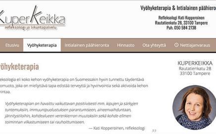 Google-optimoidut nettisivut | KuperKeikka - Tampere