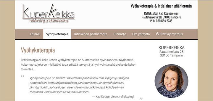 Google-optimoidut nettisivut | KuperKeikka