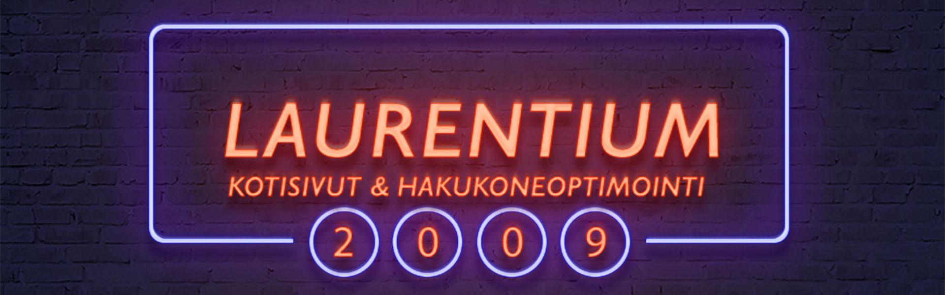 Kotisivut & Hakukoneoptimointi |Laurentium Oy • Tampere