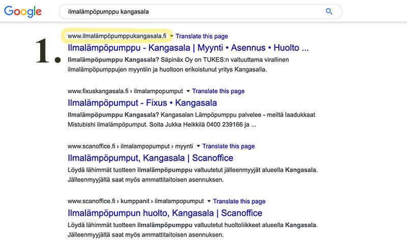 Hakukoneoptimointia Tampere • Laurentium Oy